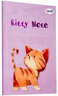 Блокнот Kitty note light pink B6