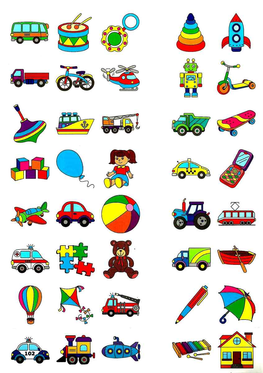 English for Kids. Іграшки і транспорт. Toys and Transport
