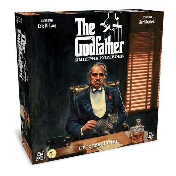 Настольная игра Crowd Games Крестный отец. Империя Корлеоне The Godfather: Corleones Empire 16016