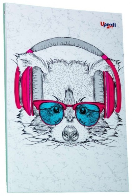 Блокнот Music note raccoon А5