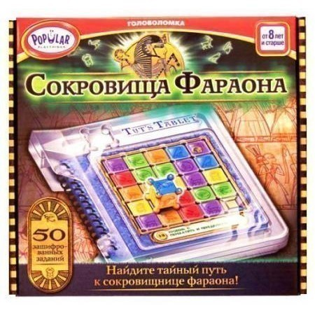 Головоломка Popular Playthings Сокровища Фараона Tuts Tublet 704127