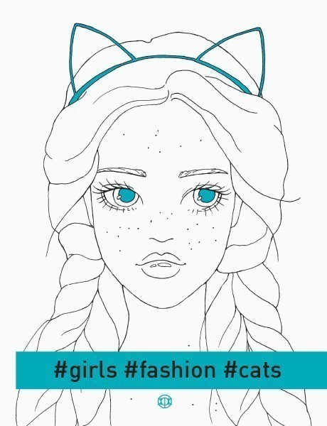 Girls. Fashion. Cats