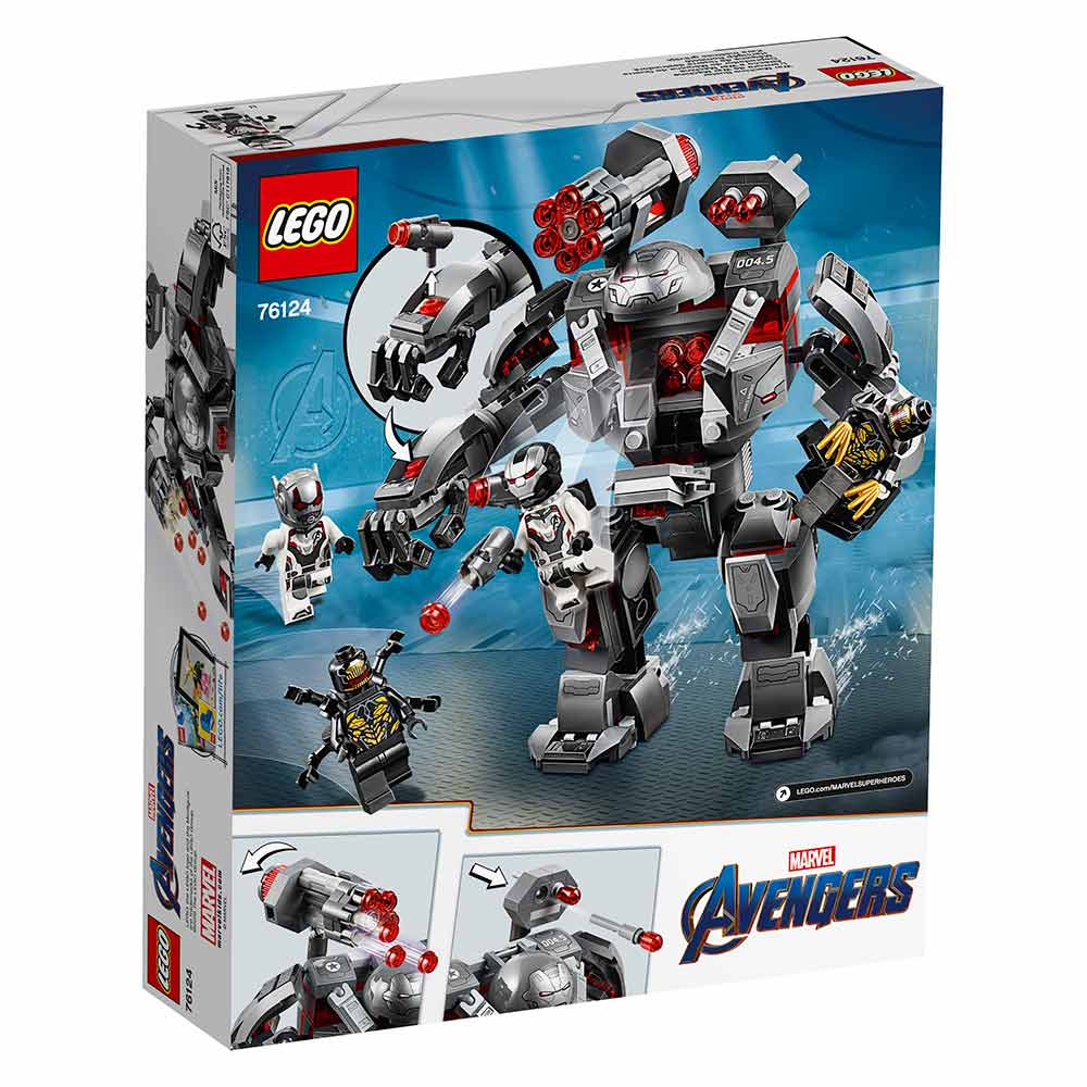 Конструктор LEGO Marvel Super Heroes Воитель 76124