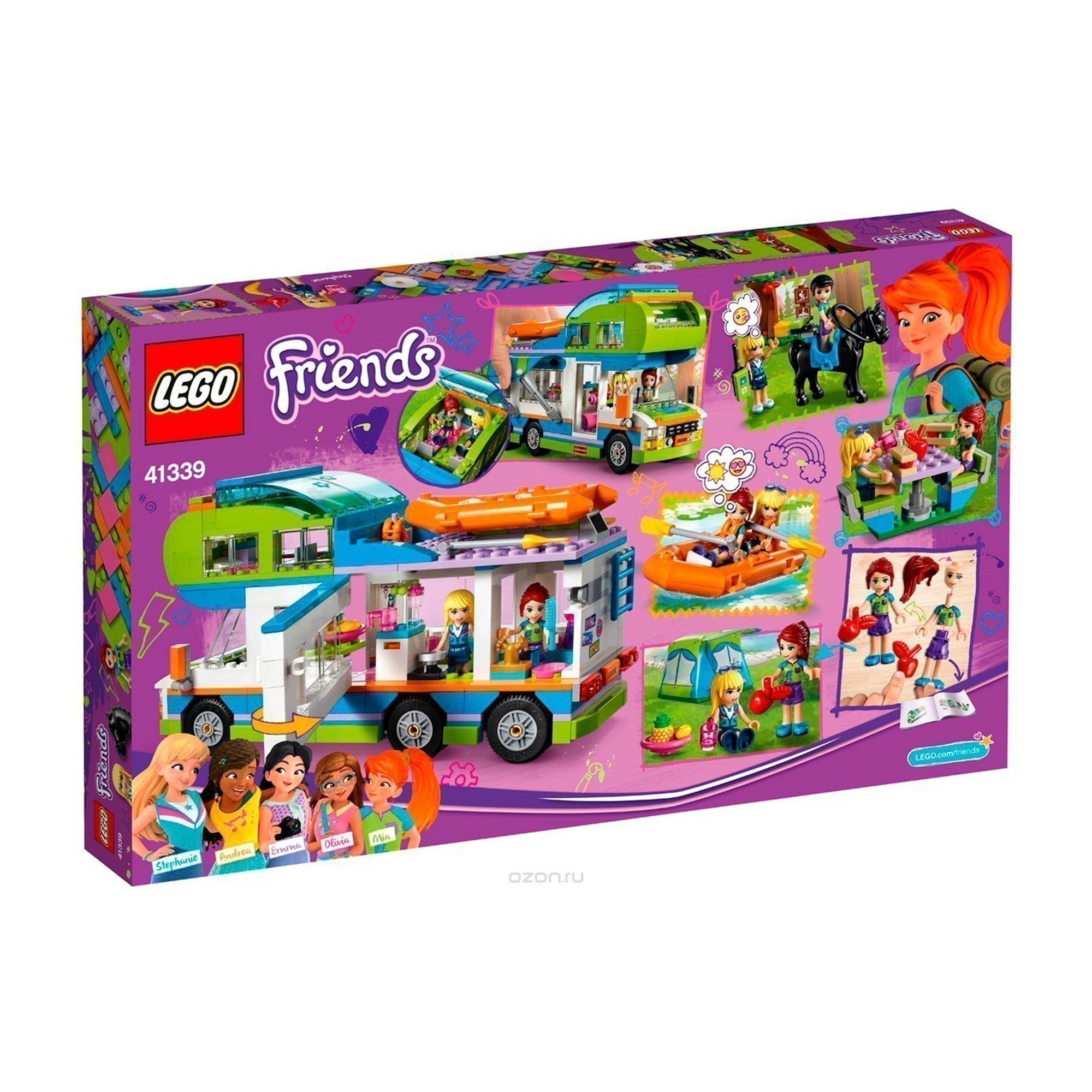Конструктор LEGO Friends Дом на колсах 41339