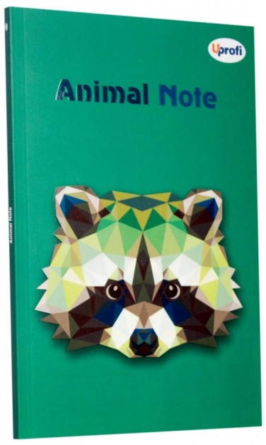 Блокнот Animal note green А5