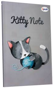 Блокнот Kitty note grey А5