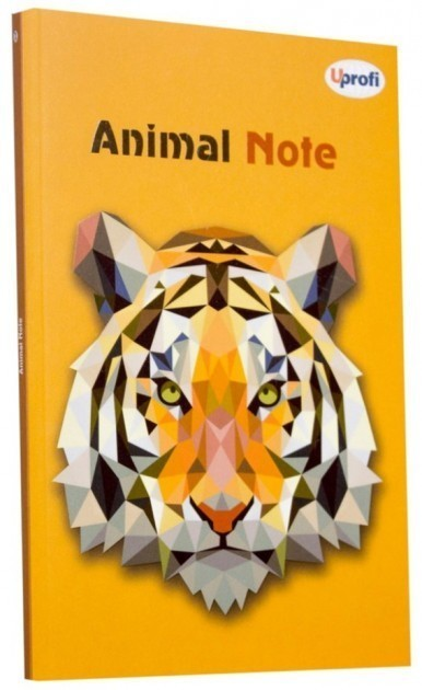 Блокнот Animal note orange А5